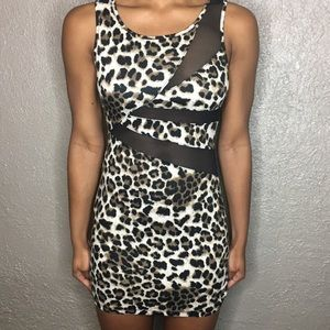 Dresses & Skirts - Cheetah Print Club Dress